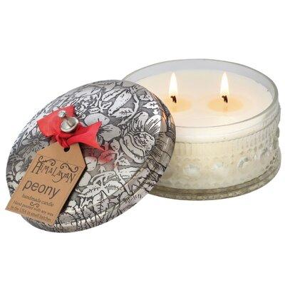 Enesco Himalayan Peony Jar Candle