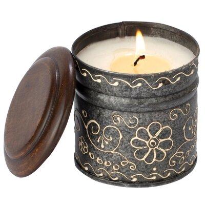 Enesco Himalayan Daisy Grapefruit Pine Jar Candle