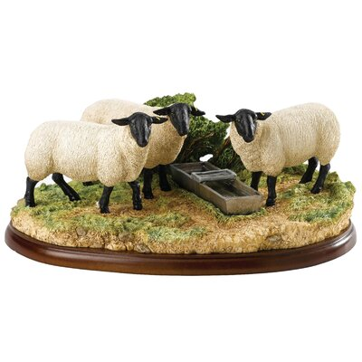 Enesco BFA Studio Suffolk Sheep Figurine