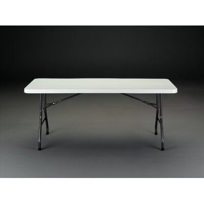 "Rectangular Folding Table Size: 30"" H x 72"" W x 29"" D"