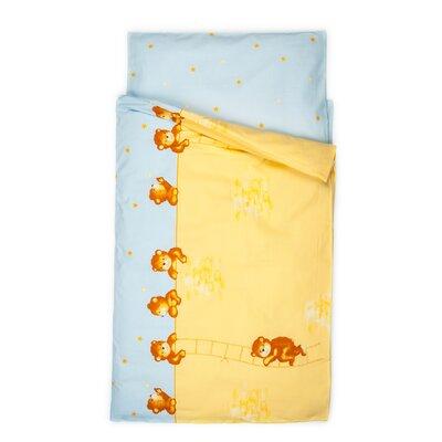 Kindertraum Kinderbettwäsche-Set Mauerbär