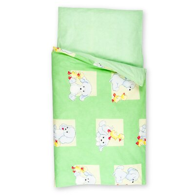 Kindertraum Kinderbettwäsche-Set Hund Ente