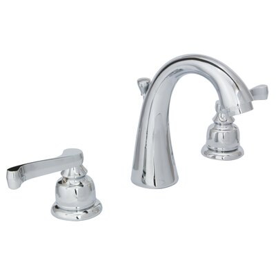 Sienna Widespread Bathroom Faucet with Drain Assembly Finish: Chrome