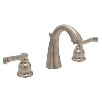 Sienna Widespread Bathroom Faucet with Drain Assembly Finish: Satin Nickel