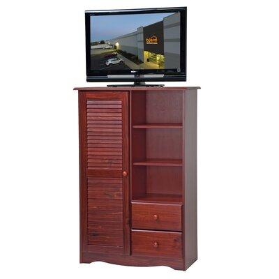 1 Door Accent Cabinet Color: Mahogany