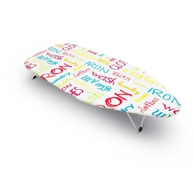 Bonita Mini Table Top Text Ironing Board