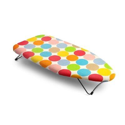 Bonita Mini Table Top Polka Dots Ironing Board