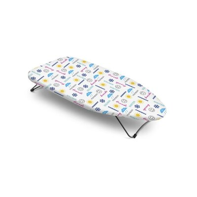 Bonita Mini Table Top Season Text Ironing Board