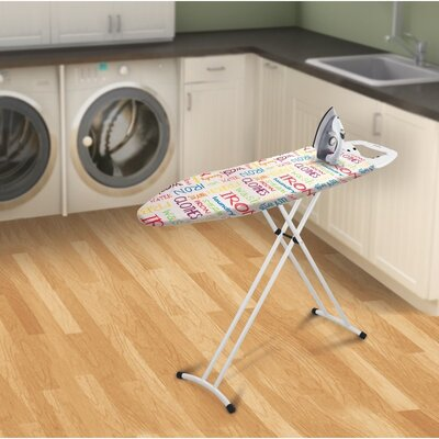 Bonita Neu Metallo Text Ironing Board
