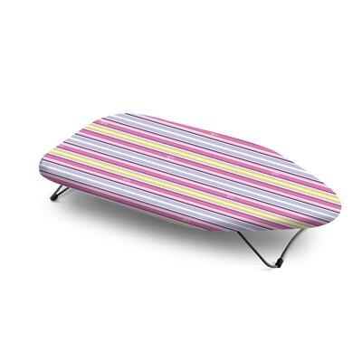 Bonita Mini Table Top Trendy Strips Ironing Board