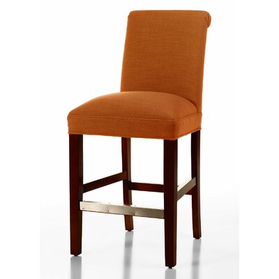 Get Price Donald 26 Quot Bar Stool Upholstery Color Orange