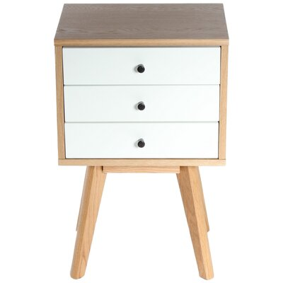 Charles Jacobs Mayfair 3 Drawer Bedside Table