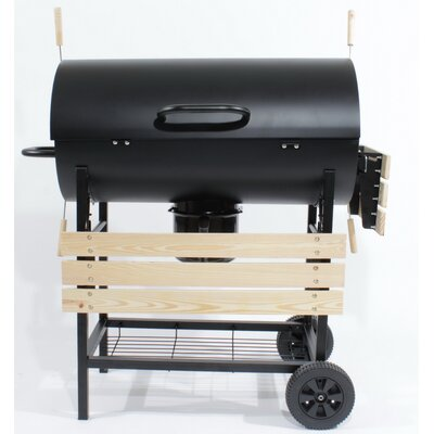 Charles Jacobs 70cm Charcoal Barbecue with Smoker Grill
