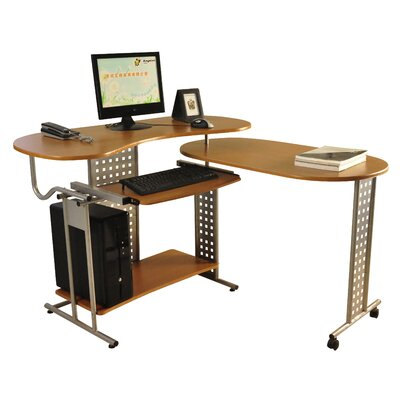 Charles Jacobs Computer Desk with Keyboard Tray