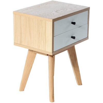 Charles Jacobs Mayfair 2 Drawer Bedside Table