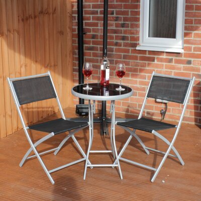 Charles Jacobs 2 Seater Bistro Set