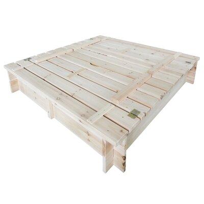 Habau Quadratisch Sandkasten 120 cm x 120 cm