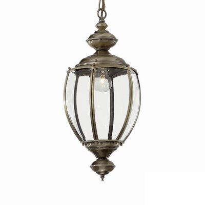 Ideal Lux Norma 1 Light Foyer Pendant
