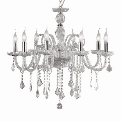 Ideal Lux Giudecca 8 Light CrystalChandelier