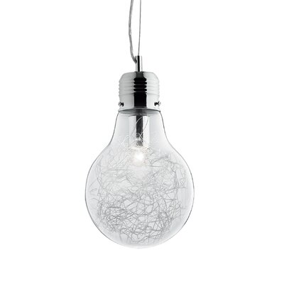 Ideal Lux Luce 1 Light Standard Pendant