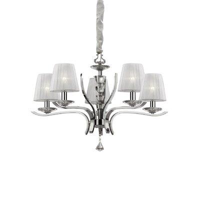 Ideal Lux Pegaso 5 Light Chandelier