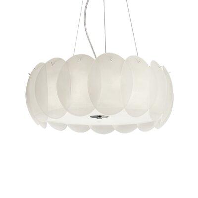 Ideal Lux Ovalino 8 Light Geometric Pendant