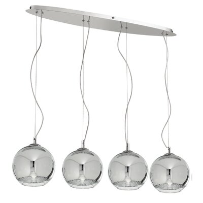 Ideal Lux Discovery 4 Light Kitchen Island Pendant