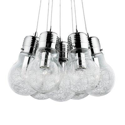 Ideal Lux Luce 7 Light Cluster Pendant