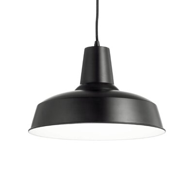 Ideal Lux Moby 1 Light Bowl Pendant