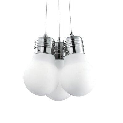 Ideal Lux Luce 3 Light Cluster Pendant