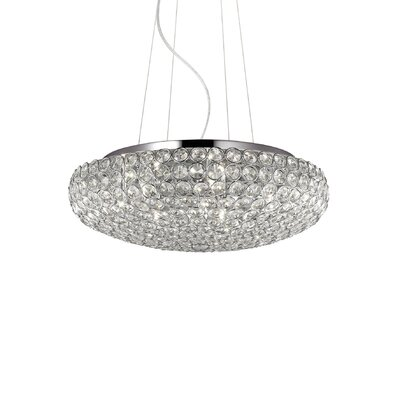 Ideal Lux King 7 Light Inverted Pendant