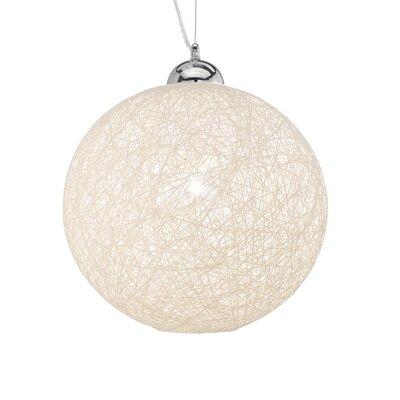 Ideal Lux Basket 1 Light Globe Pendant
