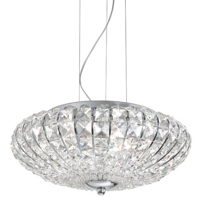Ideal Lux Virgin 5 Light Standard Pendant