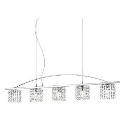 Ideal Lux Spirit 5 Light Kitchen Island Pendant