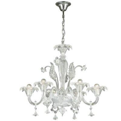 Ideal Lux Ca Vendramin 6 Light CrystalChandelier
