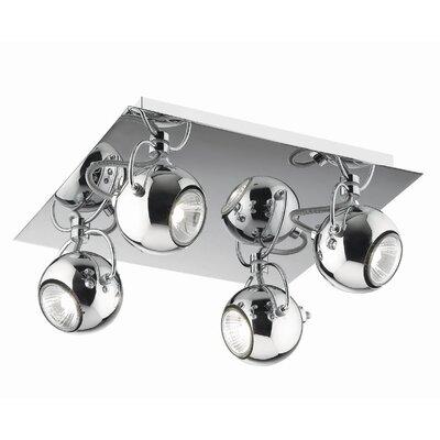 Ideal Lux Lunare 4 Light Spotlight