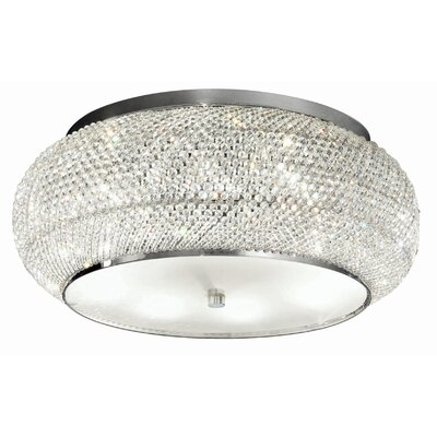 Ideal Lux Pasha 10 Light Flush Ceiling Light