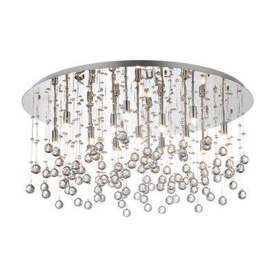 Ideal Lux Moonlight 15 Light Semi-Flush Ceiling Light