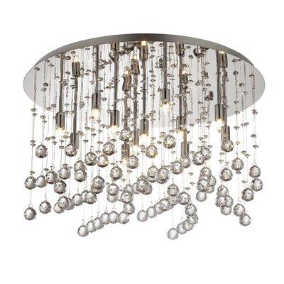 Ideal Lux Moonlight 12 Light Semi-Flush Ceiling Light