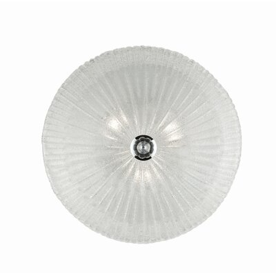 Ideal Lux Shell 3 Light Wall Lamp