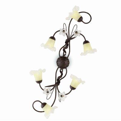 Ideal Lux Tirol 6 Light Wall Lamp