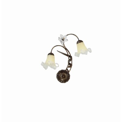 Ideal Lux Tirol 2 Light Wall Lamp
