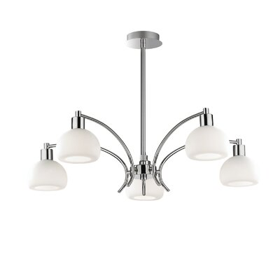 Ideal Lux Tokyo 5 Light Candle Chandelier