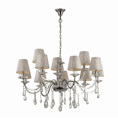 Ideal Lux Pantheon 12 Light Chandelier