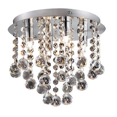 Ideal Lux Bijoux 4 Light Flush Ceiling Light
