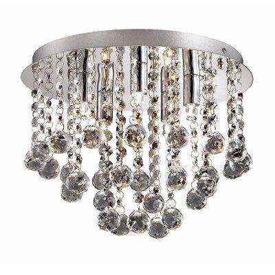 Ideal Lux Bijoux 5 Light Flush Ceiling Light