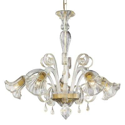 Ideal Lux 5 Light CrystalChandelier