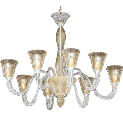 Ideal Lux 8 Light CrystalChandelier