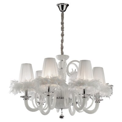 Ideal Lux Cabaret 6 Light Chandelier