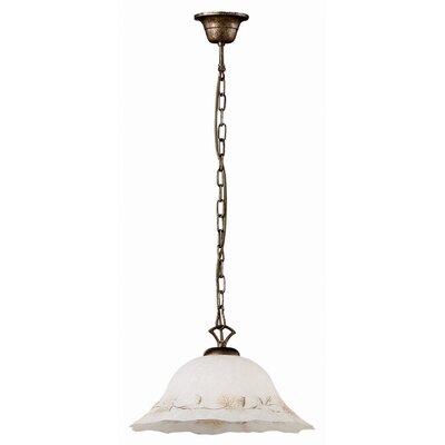 Ideal Lux Foglia 1 Light Bowl Pendant